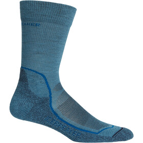 Icebreaker Hike+ Light Crew Socks Herr thunder/isle/midnight navy